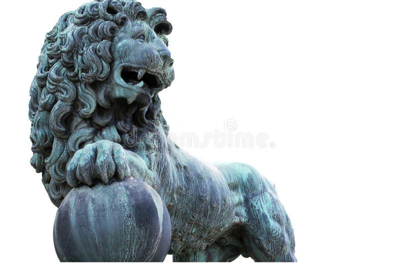 Lwa zabytek obrazy stock