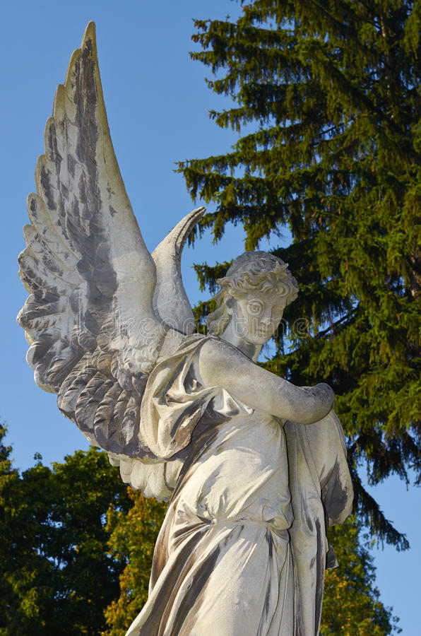 lwy Lviv cmentarz obrazy royalty free