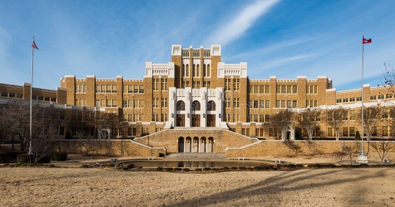 Lycée central de Little Rock photographie stock