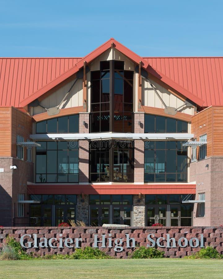 Lycée de glacier photos libres de droits
