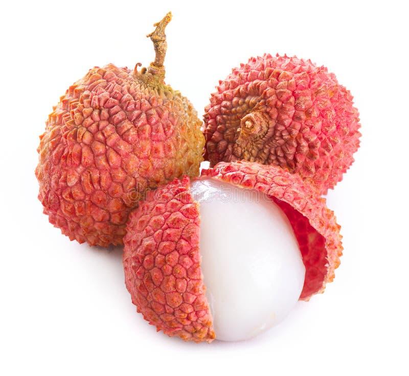 Lychee. Φρέσκα lychees στοκ φωτογραφία με δικαίωμα ελεύθερης χρήσης