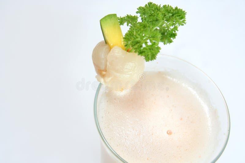 lychee χυμού στοκ εικόνα