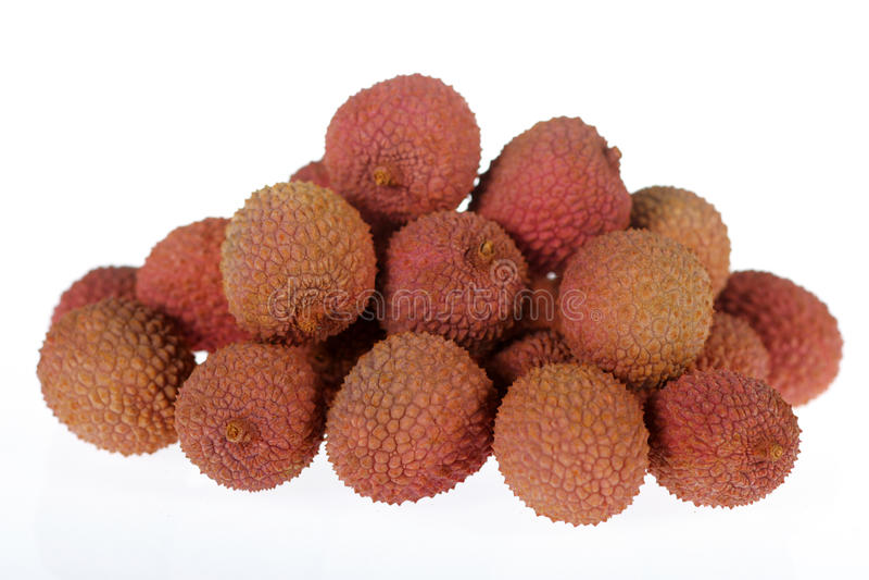 lychee royaltyfri bild
