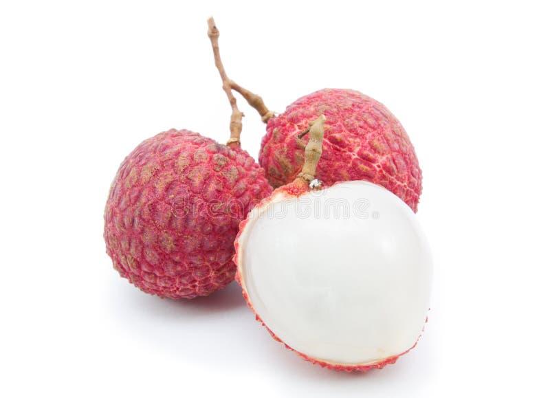 Lychee fruits royalty free stock photos