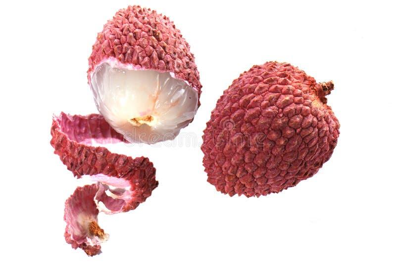 lychees στοκ εικόνες