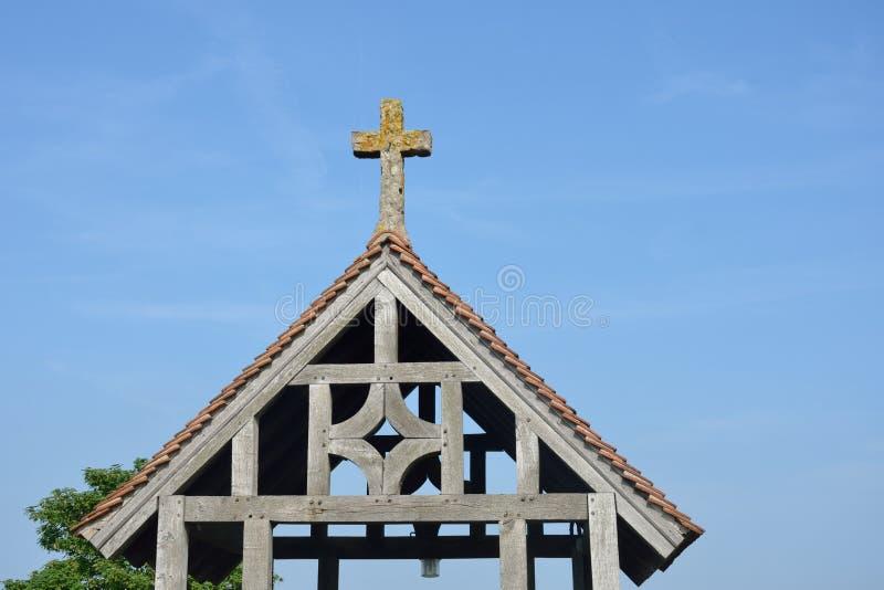 Lychgate de madeira tradicional imagem de stock royalty free