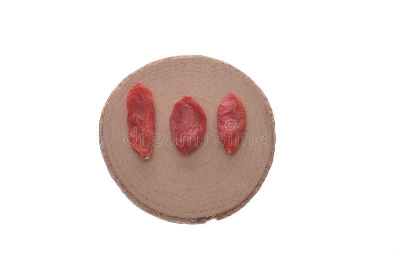 Lycium--una medicina china tradicional foto de archivo libre de regalías