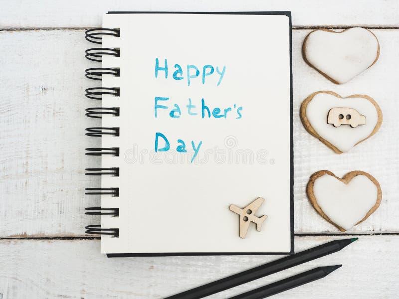 Lyckönskan på dag för fader` s arkivfoto