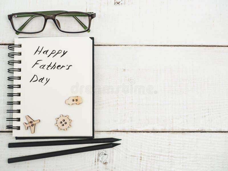 Lyckönskan på dag för fader` s arkivfoton