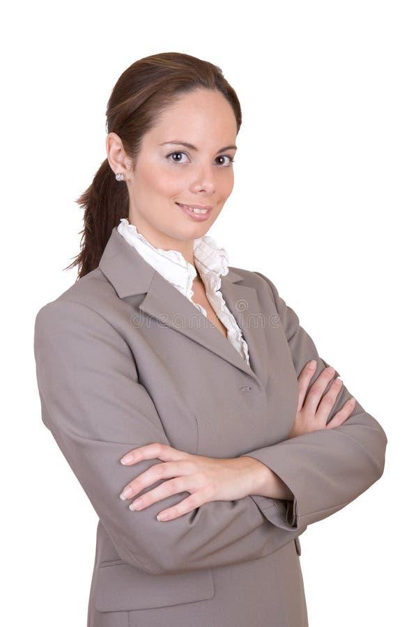 lyckad härlig affärskvinna arkivfoton