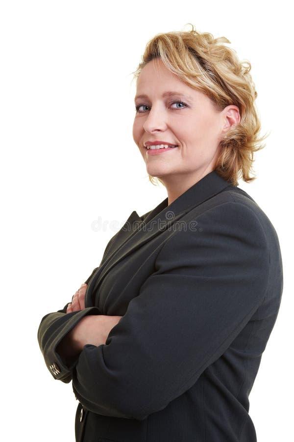lyckad kvinna arkivbild