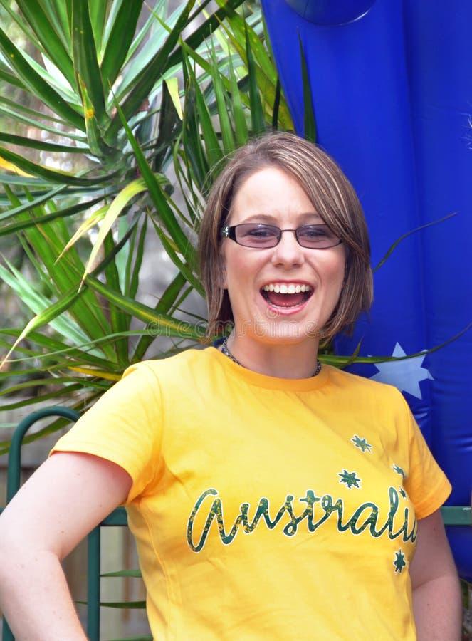 Lycklig Australien dag royaltyfri fotografi