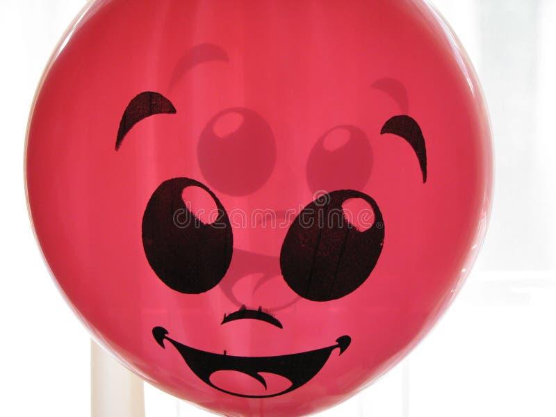 lycklig ballong arkivfoto
