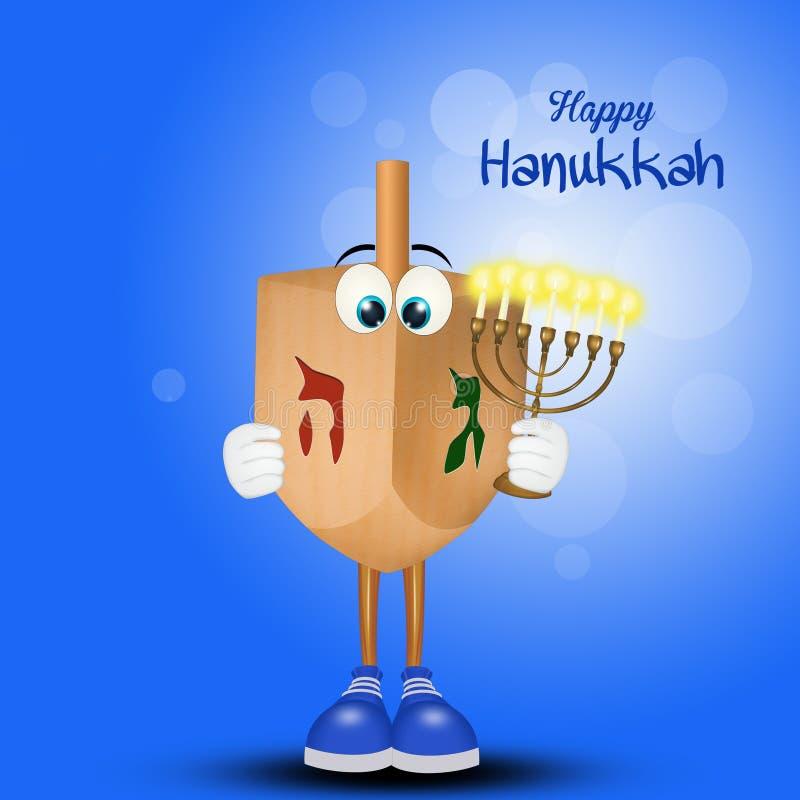 Lycklig Chanukkah, festival av ljus royaltyfri illustrationer