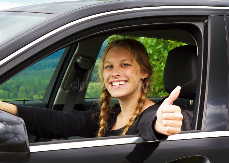 Lycklig chaufför royaltyfri foto