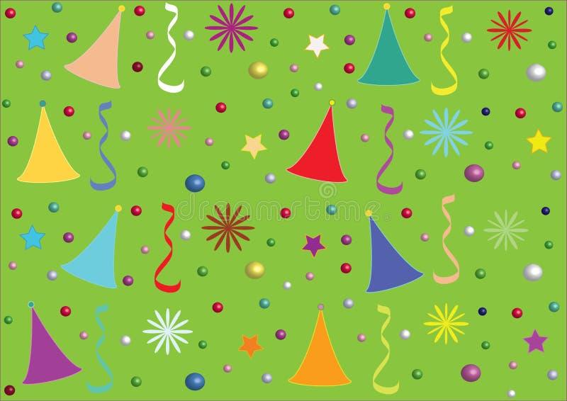 Lycklig dag för bakgrund vektor illustrationer