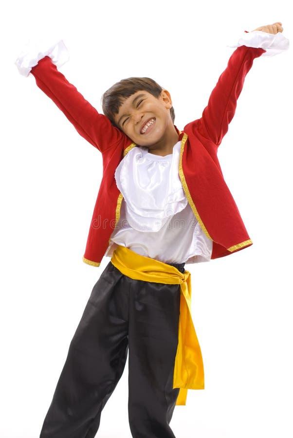 lycklig dansare royaltyfri bild