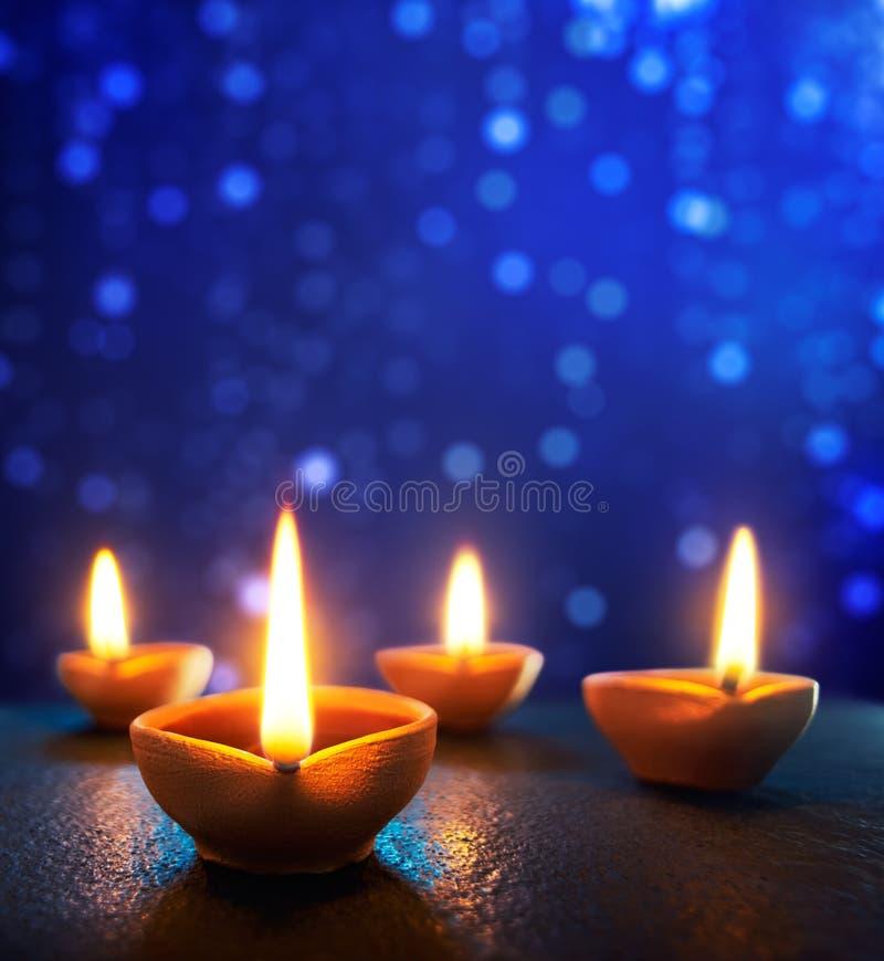 lycklig diwali arkivfoto