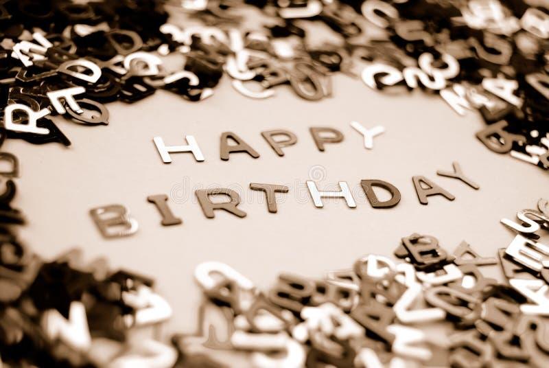 lycklig födelsedag fotografering för bildbyråer