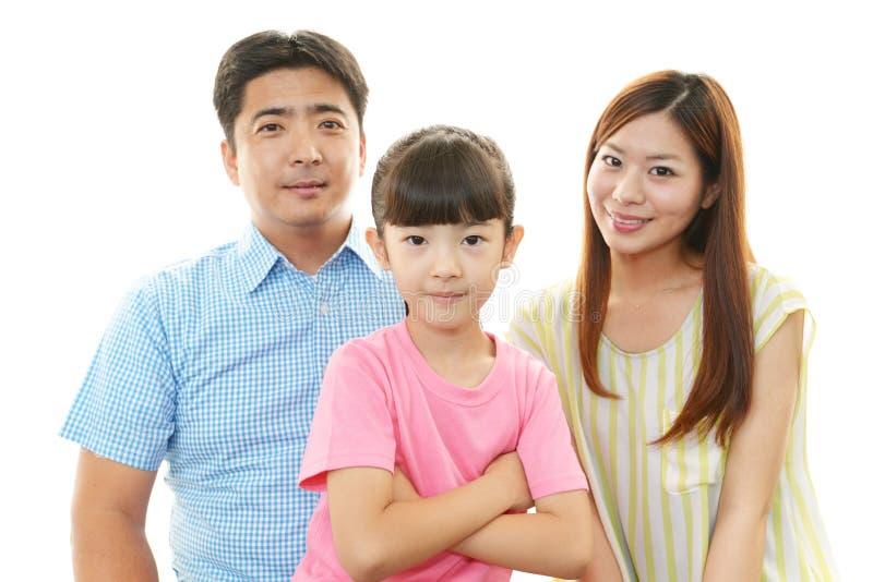 Download Lycklig Familj Som Tillsammans Ler Fotografering för Bildbyråer - Bild av gladlynt, lycka: 37349709