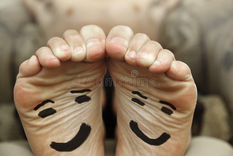 lycklig fot