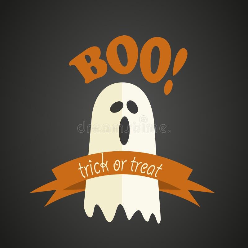 Lycklig halloween design vektor illustrationer
