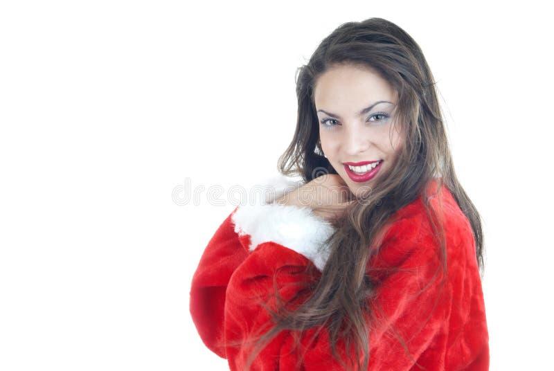 Lycklig jul arkivbild