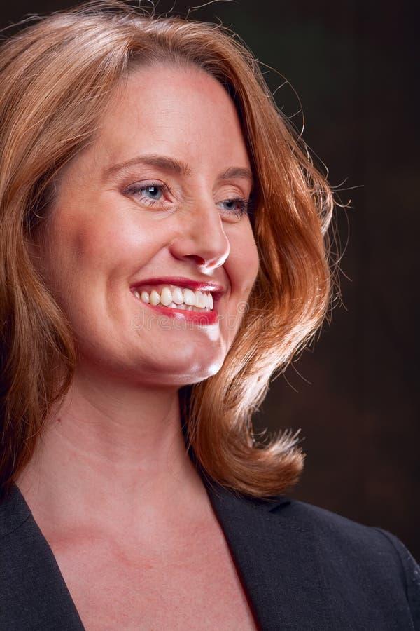 lycklig kvinna royaltyfri fotografi
