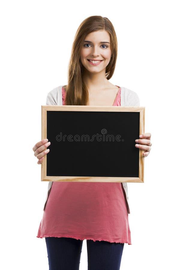 Download Lycklig kvinna fotografering för bildbyråer. Bild av härlig - 37346131