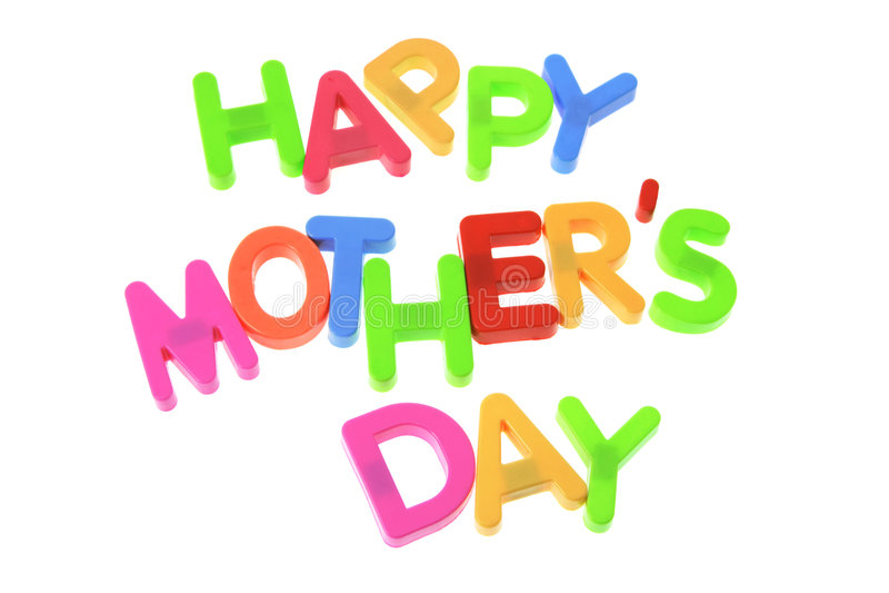 lycklig moder s för dag royaltyfria bilder
