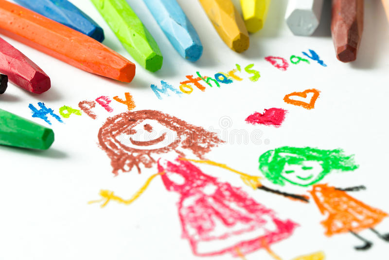 lycklig moder s för dag royaltyfri fotografi