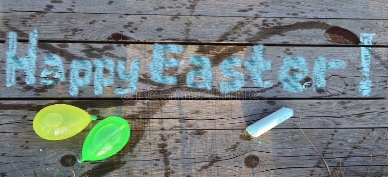Lycklig påsk och lycklig Dyngus dag! arkivfoton