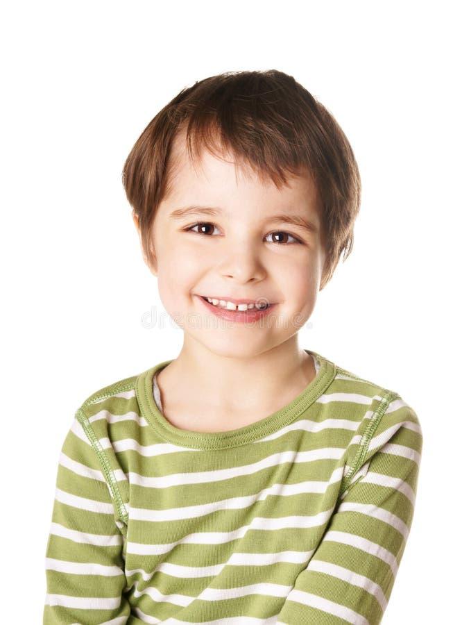 Lycklig pojke fotografering för bildbyråer
