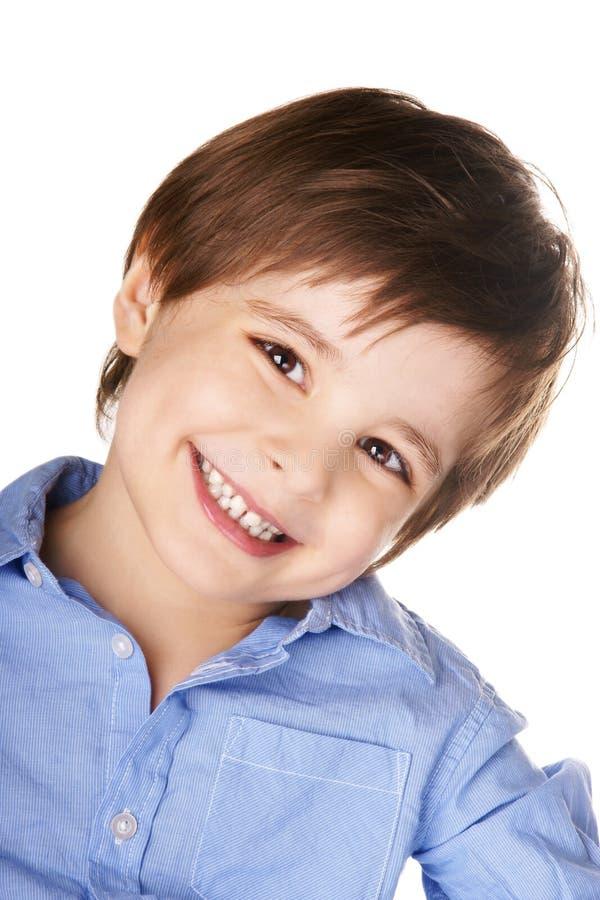 Lycklig pojke royaltyfri fotografi