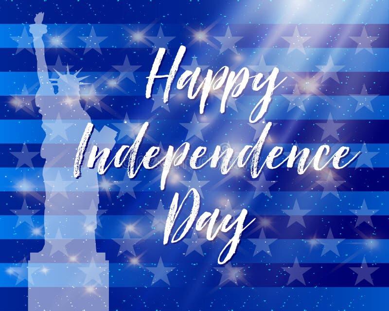 Lycklig presidentdag Festligt baner med amerikanska flaggan och text också vektor för coreldrawillustration stock illustrationer