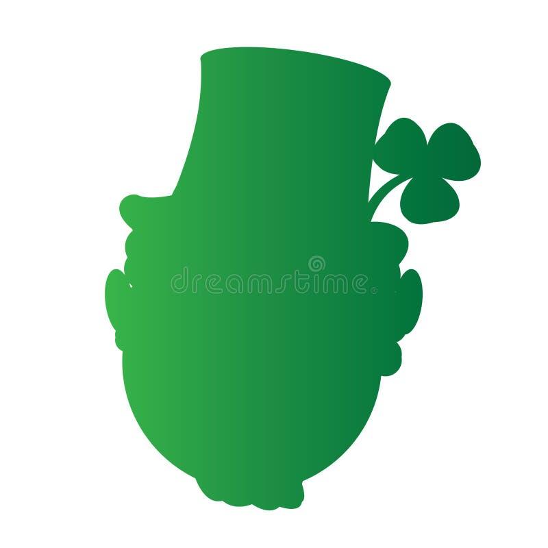 Lycklig Sanktt Patrick dag stock illustrationer