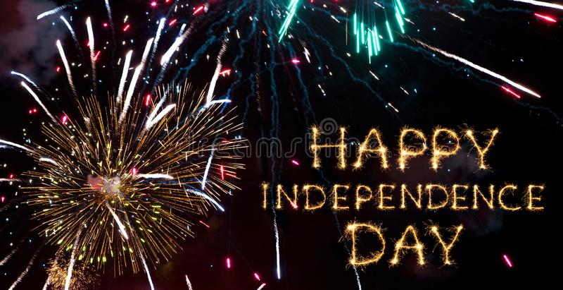 lycklig självständighet för dag royaltyfri foto