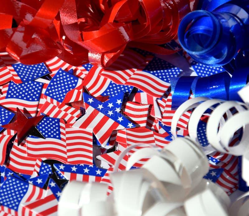Lycklig självständighetsdagen, beröm, patriotism och feriebegrepp royaltyfria foton