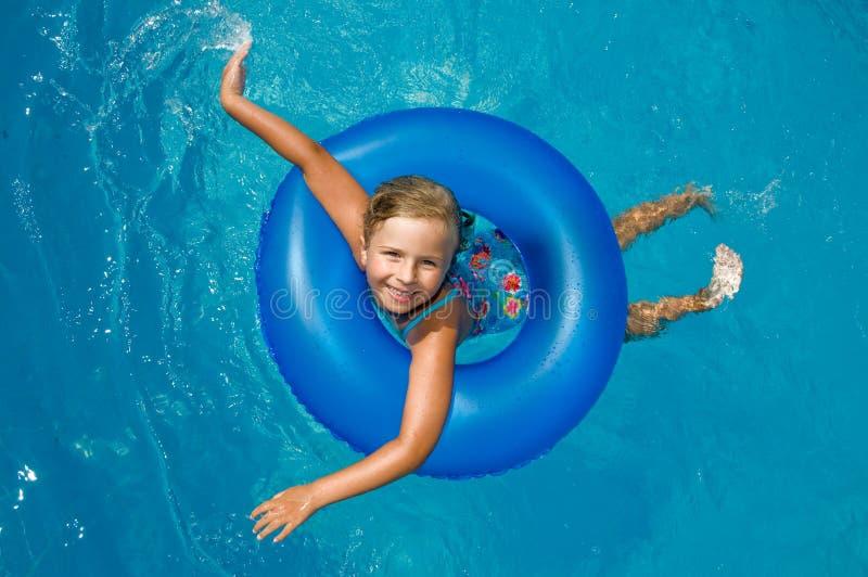 Lycklig sommarsemester arkivfoto