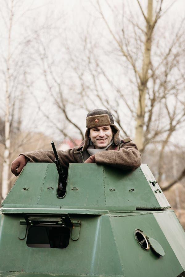 Download Lycklig Sovjetisk Soldat Gomel Vitryssland Redaktionell Foto - Bild av militär, natur: 106828850