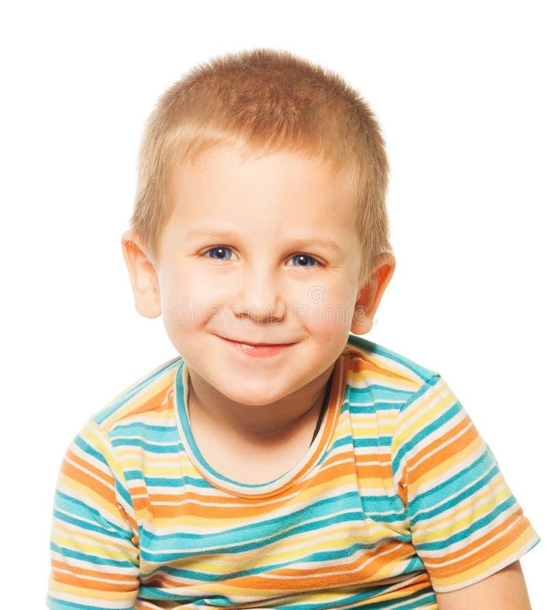 Le fyra år gammal pojke royaltyfri foto