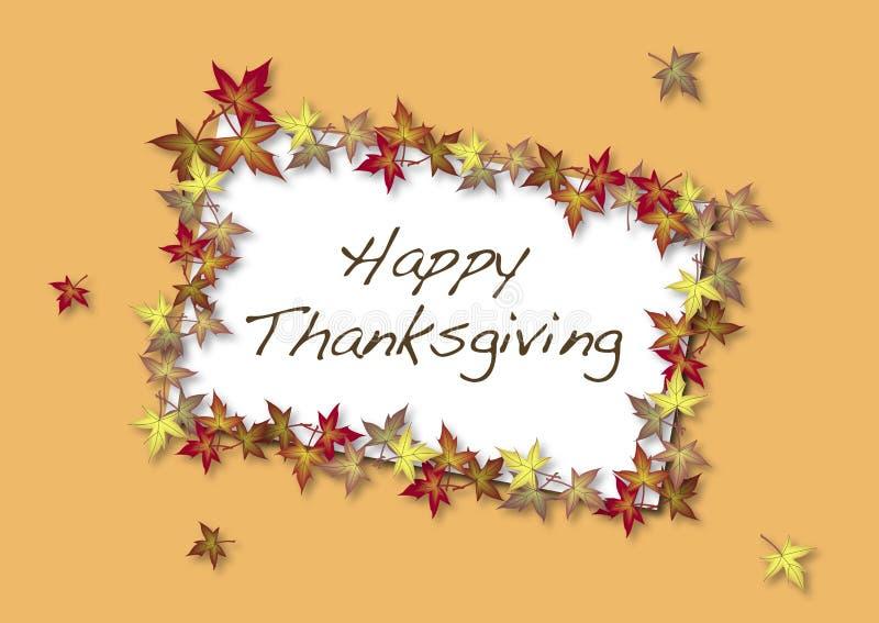 lycklig tacksägelse för kort