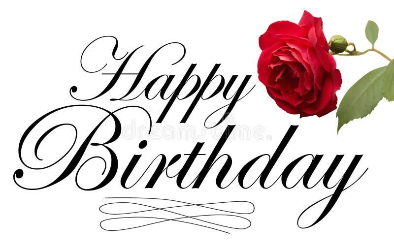 lycklig typ för födelsedag royaltyfri illustrationer
