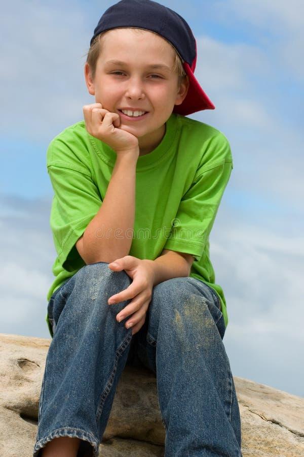 lycklig ungdom royaltyfri foto