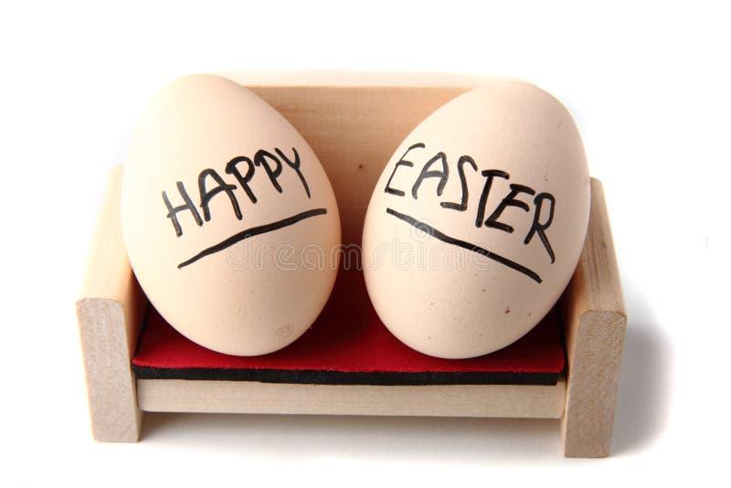 lyckliga easter ägg arkivfoto