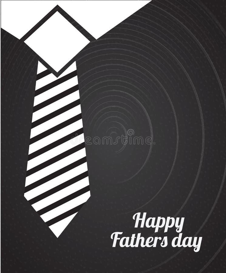 Lyckliga fäder royaltyfri illustrationer