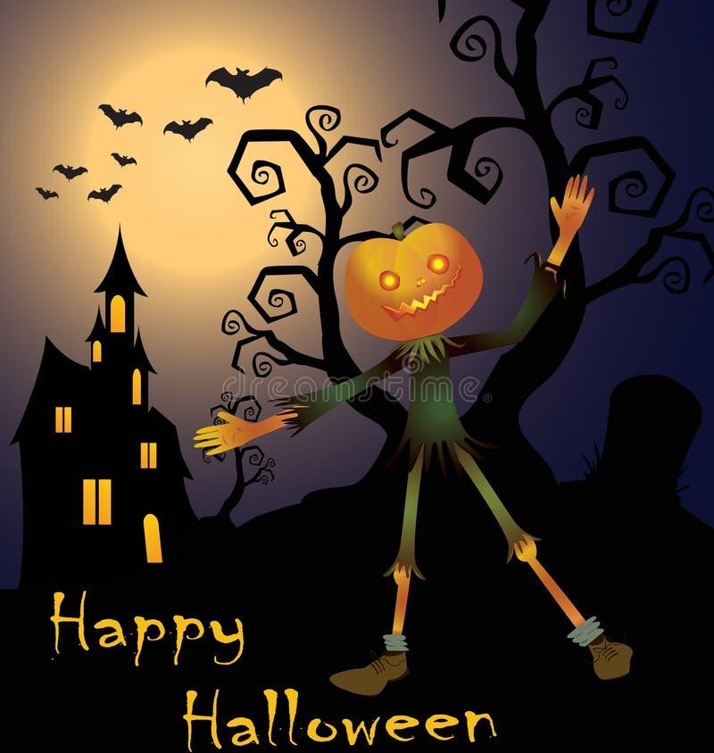 lyckliga halloween royaltyfri bild
