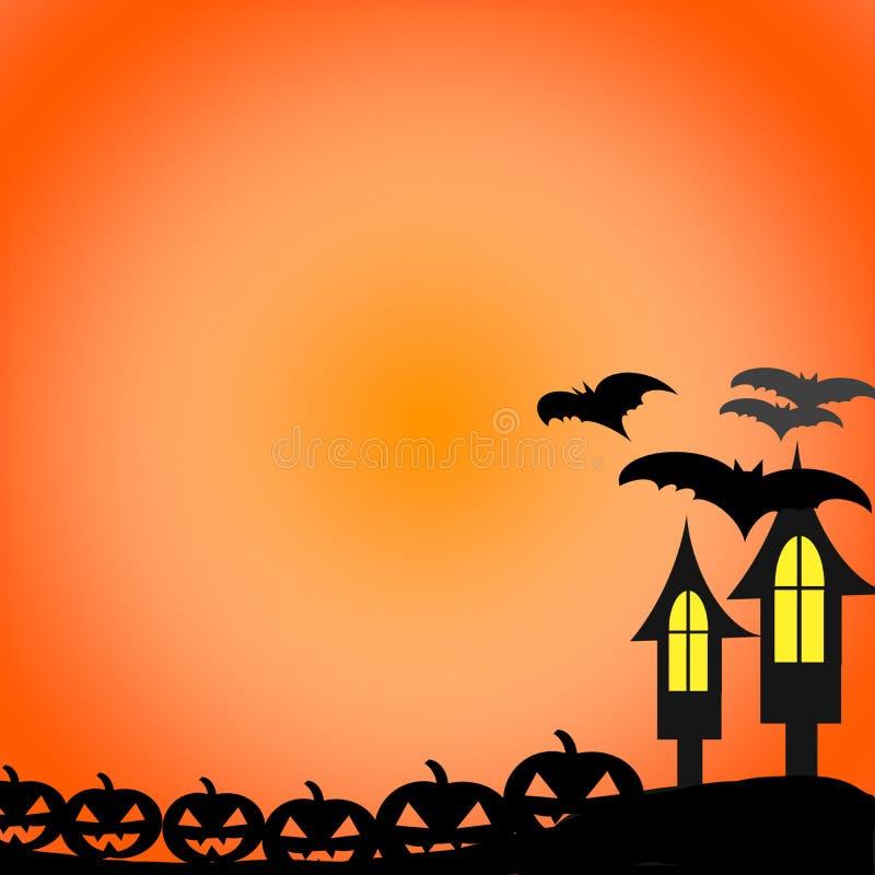 Lyckliga halloween allhelgonaaftondag arkivfoto