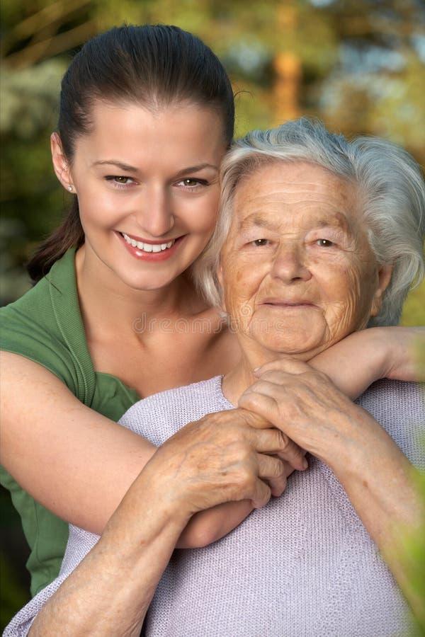 lyckliga kvinnor royaltyfri fotografi