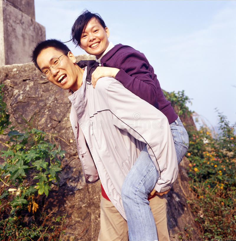 lyckliga par royaltyfri fotografi